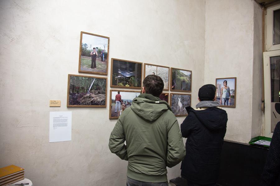 Bubble & Scrape exhibition, Tom Griggs   Das Giftraum, Berlin-Neukölln, 2014