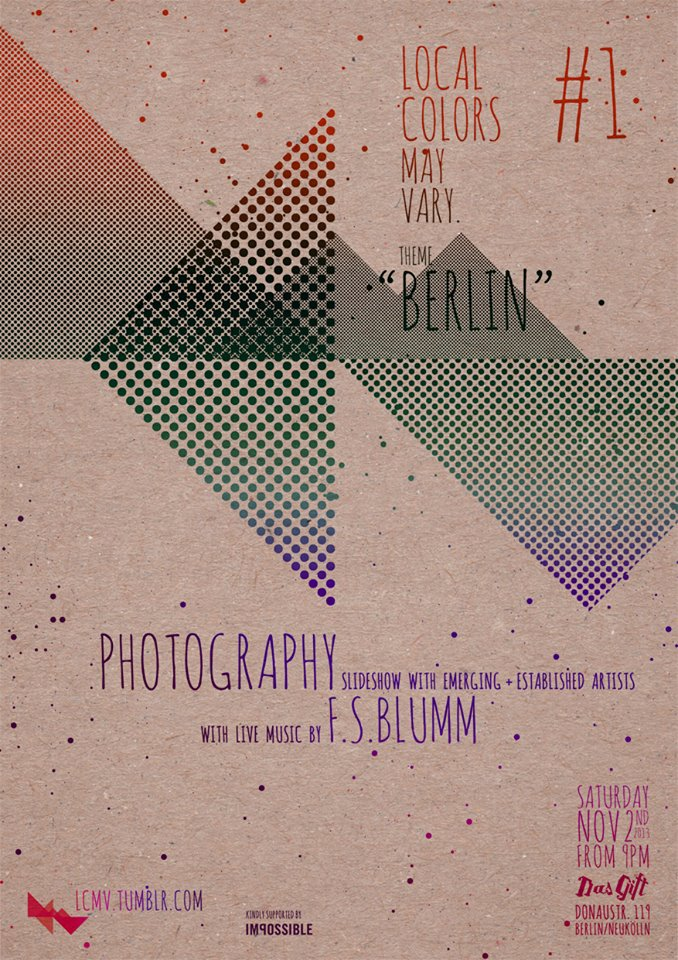 Local Colors May Vary poster