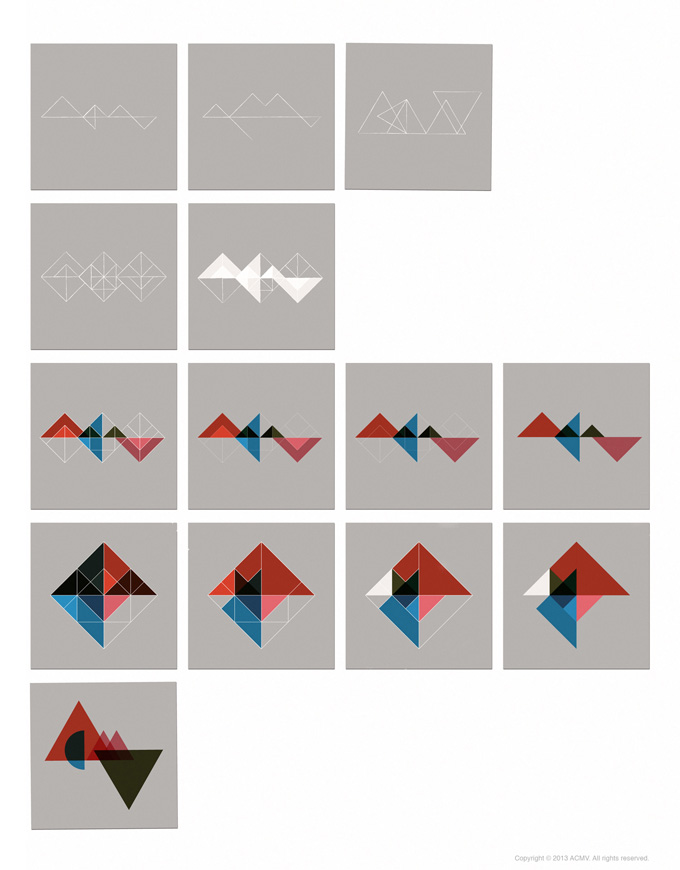 Logo studies for ACMV by Julia