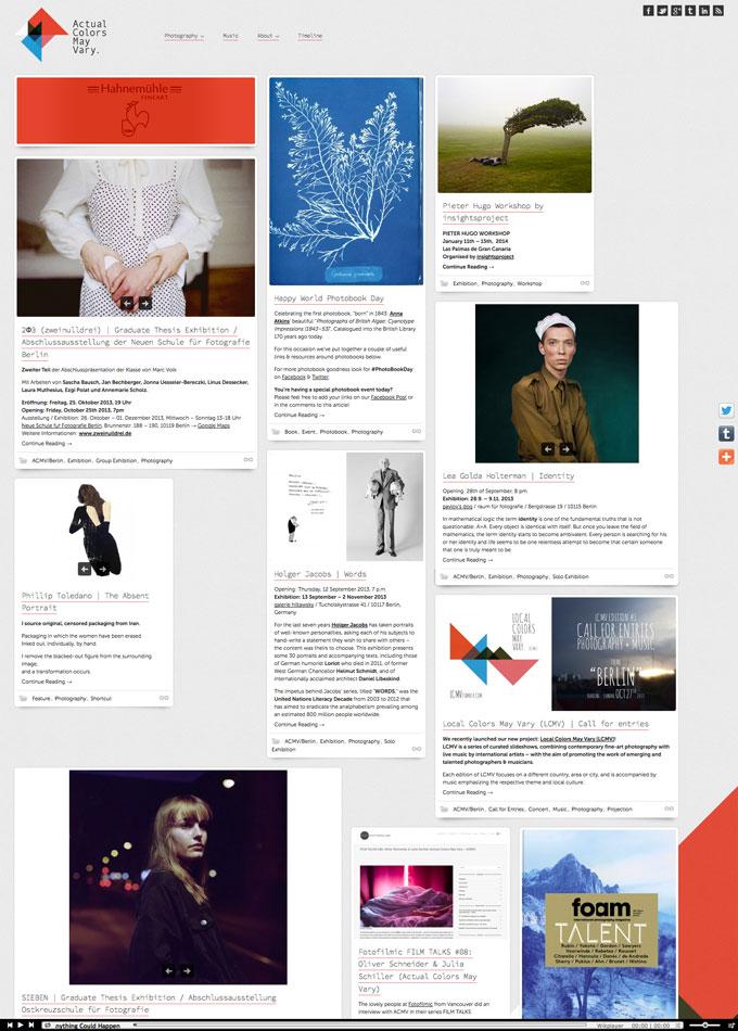ACMV's website