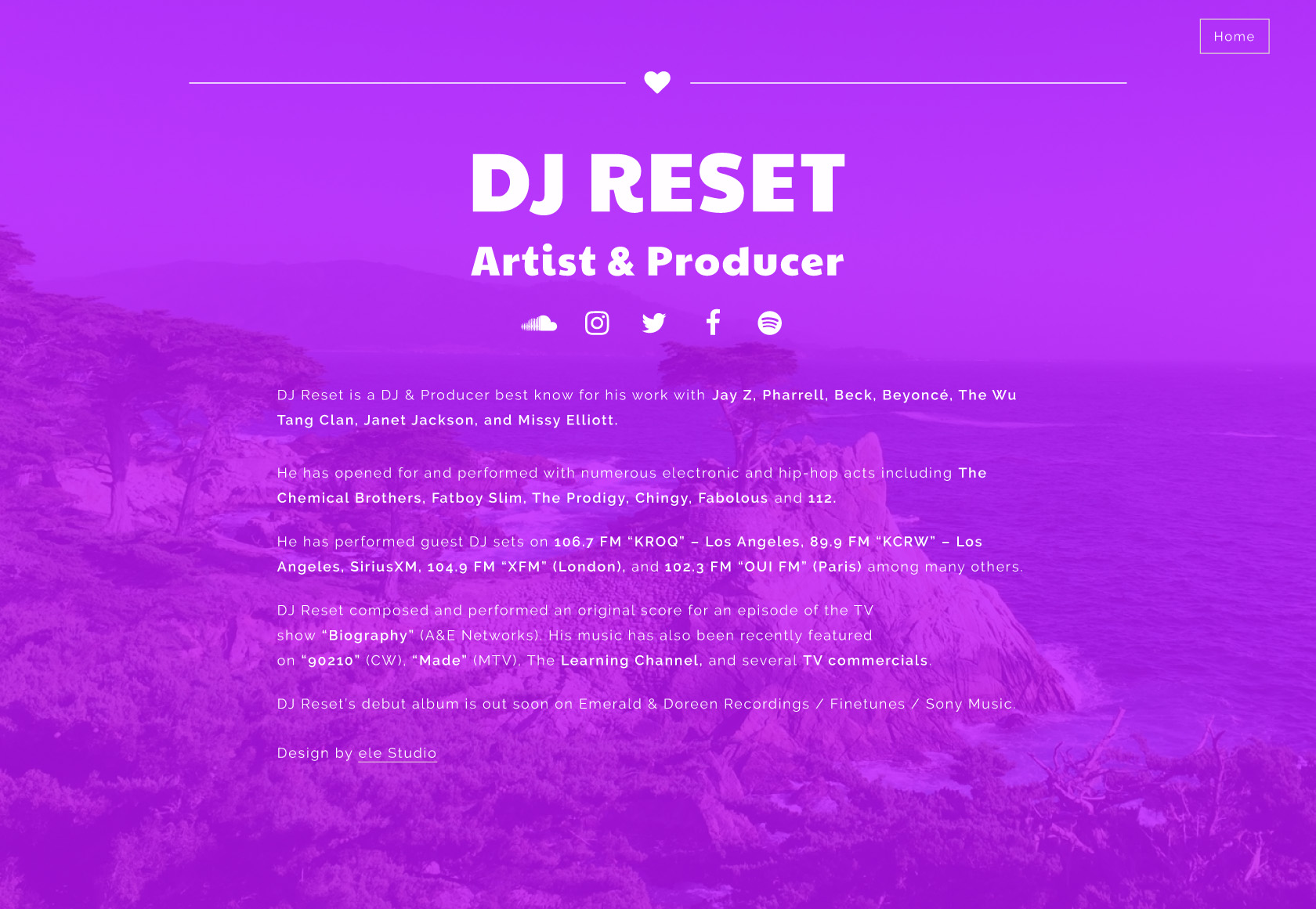 About – DJ Reset
