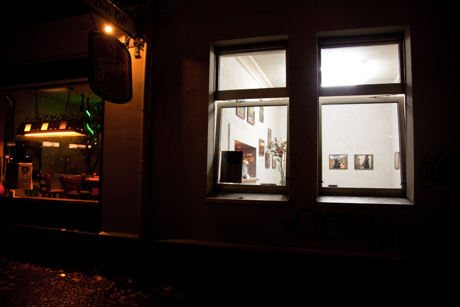 Bubble & Scrape exhibition | Das Giftraum, Berlin-Neukölln, 2014