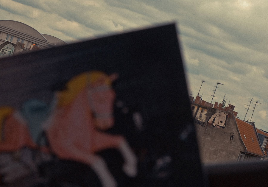 ACMV postcards, feat. a photo by Maxwell Anderson