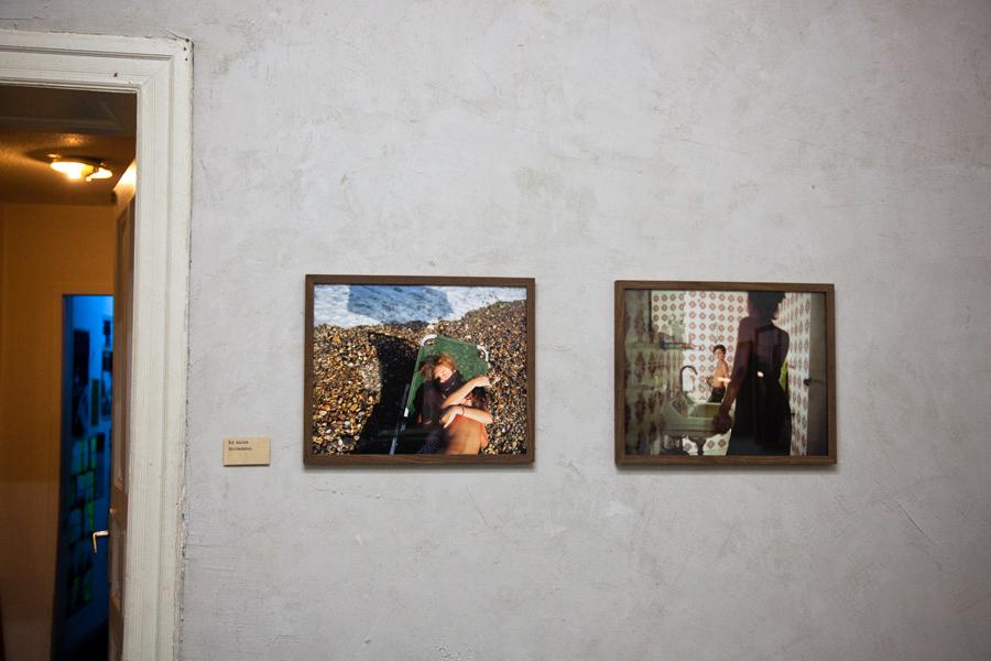 Bubble & Scrape exhibition, Ed Alcock | Das Giftraum, Berlin-Neukölln, 2014
