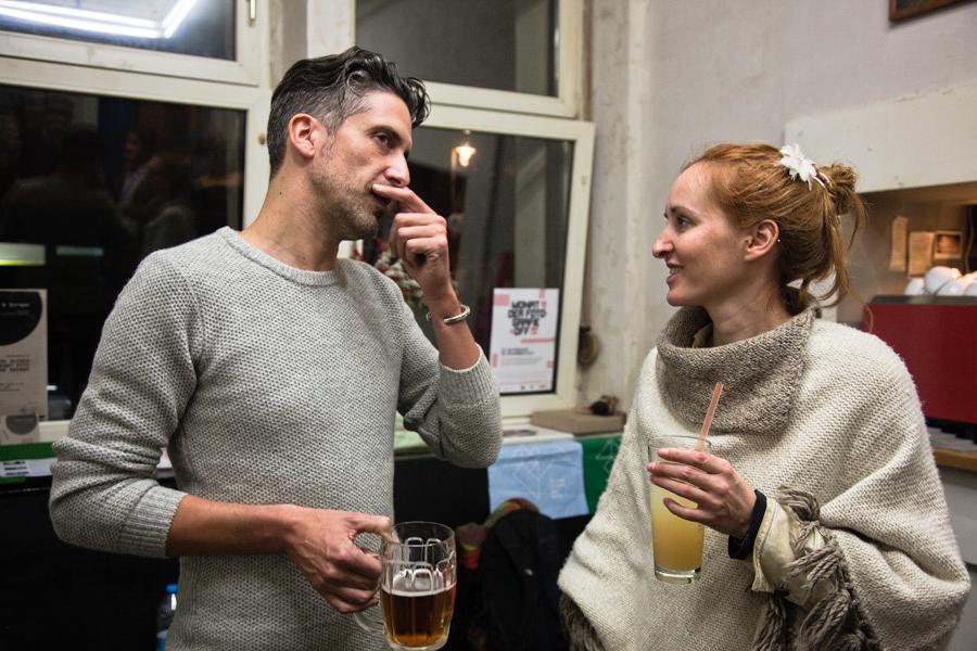 Bubble & Scrape exhibition, artists Ed Alcock & Jenny Fitz   Das Giftraum, Berlin-Neukölln, 2014