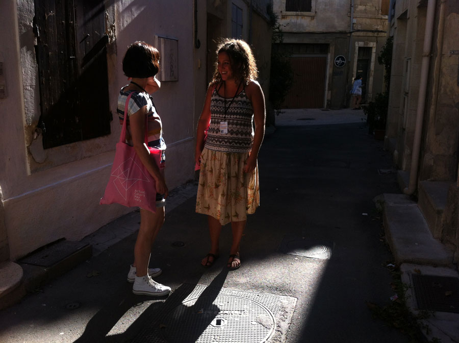 ACMV in Arles, 2014, Diane & Julia