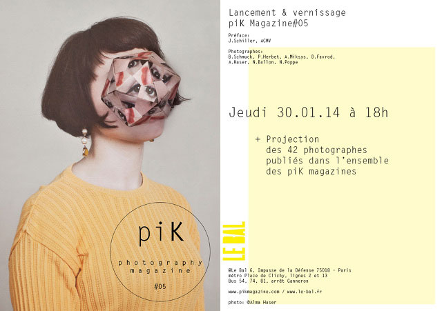 piK magazine #05 | launch at Le Bal, Paris