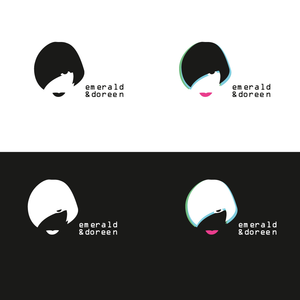Emerald & Doreen logo variations
