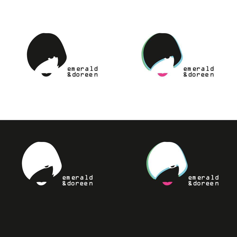 Emerald & Doreen logo variations