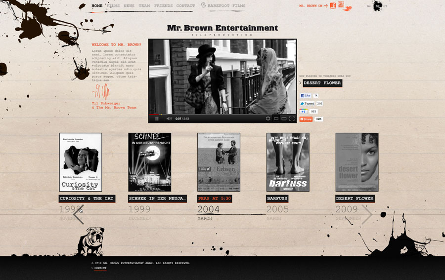 mr-brown-entertainment-berlin 01, website by © ele-studio berlin