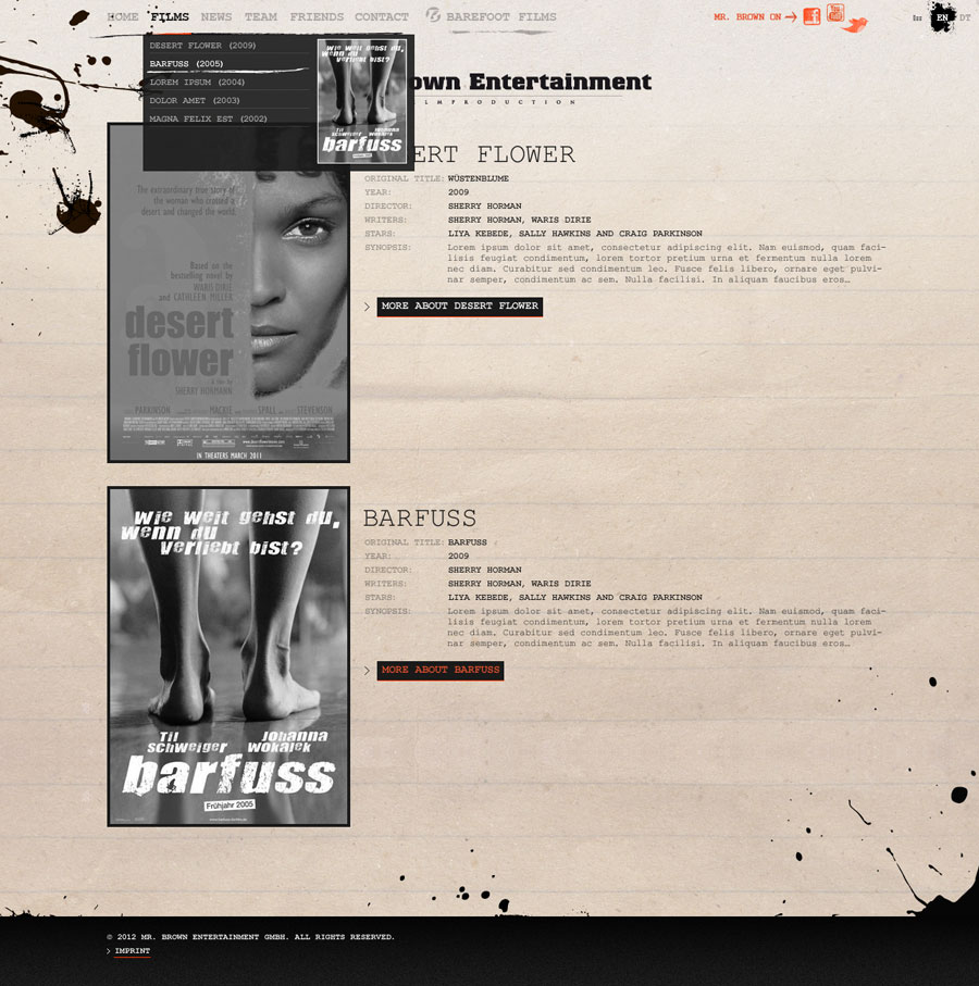 mr-brown-entertainment-berlin 02, website by © ele-studio berlin